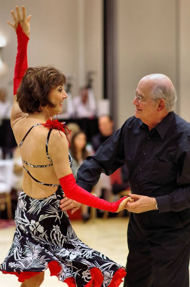 Melanie & Jack at Ballroom Competition
