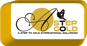 A Step To Gold Ballroom Logo