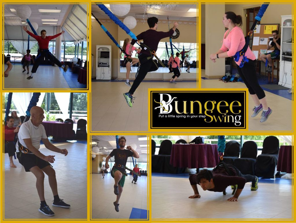 Bungie swing class collage